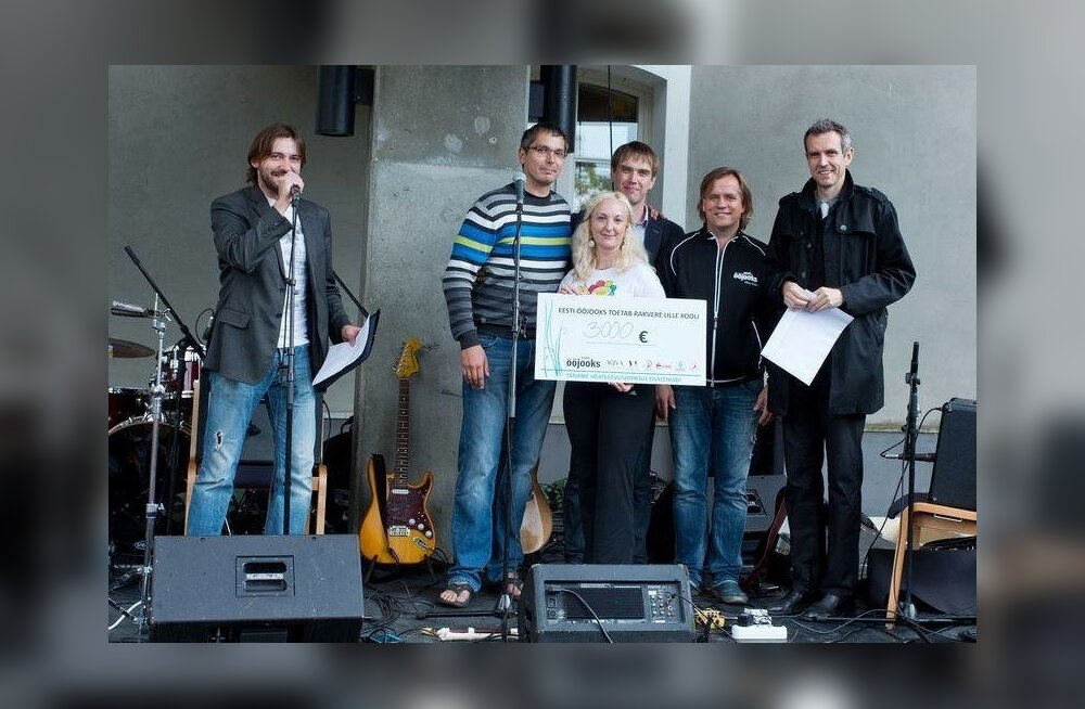 Mullu koguti vaimupuudega laste heaks 3000 eurot
