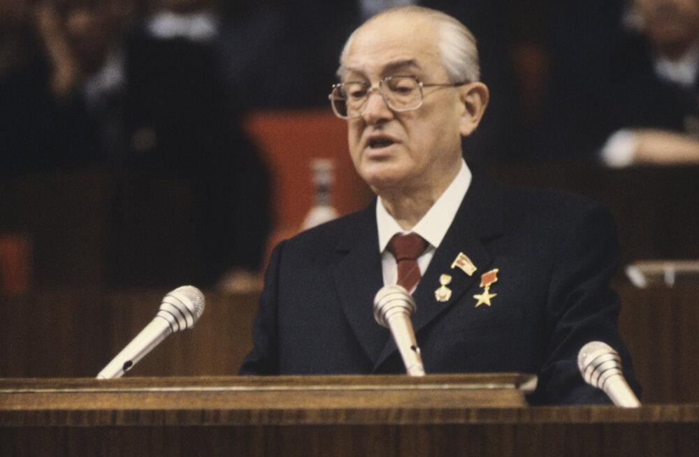 Nõukogude Liit 1983: Gorbatšov nõudis Andropovilt radikaalseid reforme