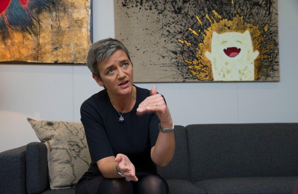 Margrethe Vestager.Euroopa Komisjon.Konkurentsivolinik.Brüssel