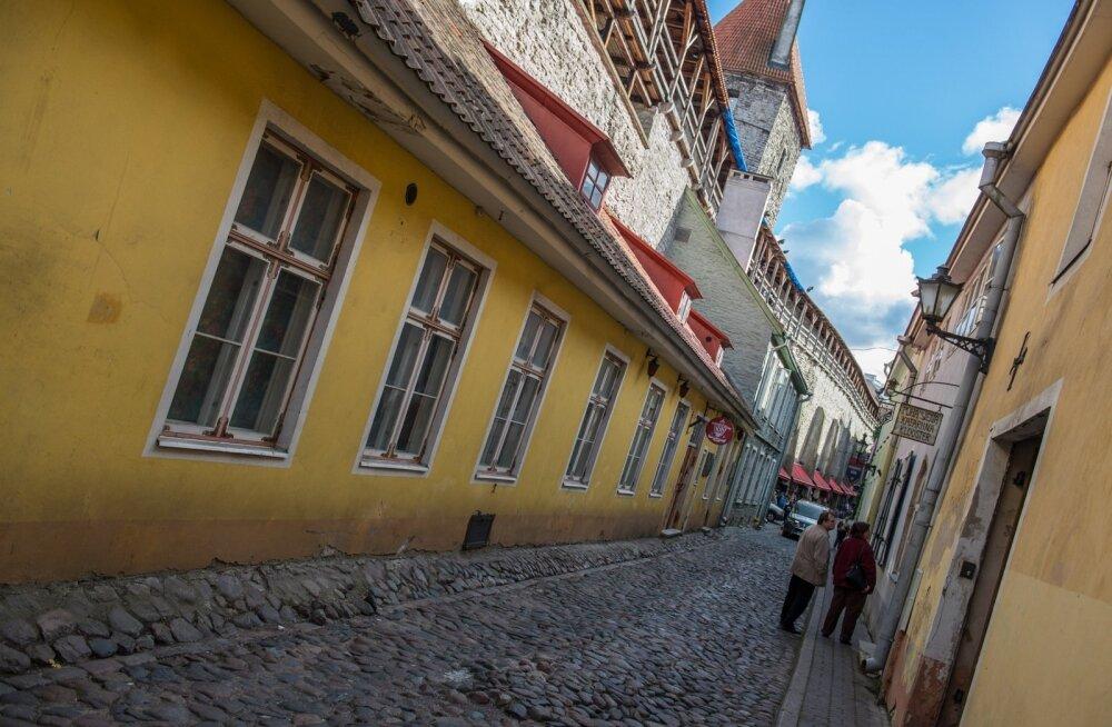 Müürivahe tänaval