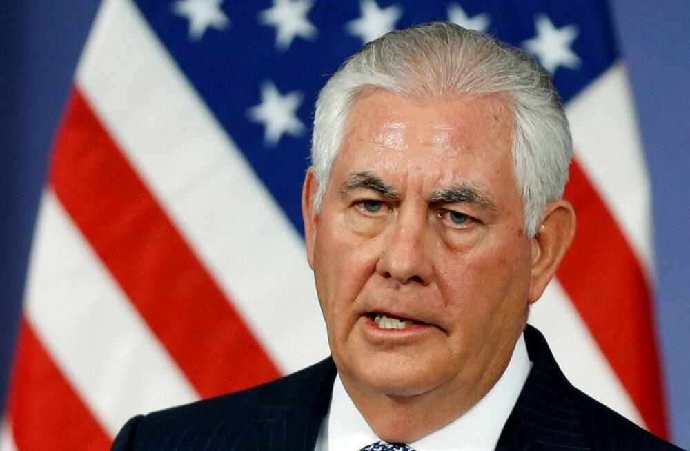 Tillerson: NATO suhete normaliseerimist Venemaaga ei toimu