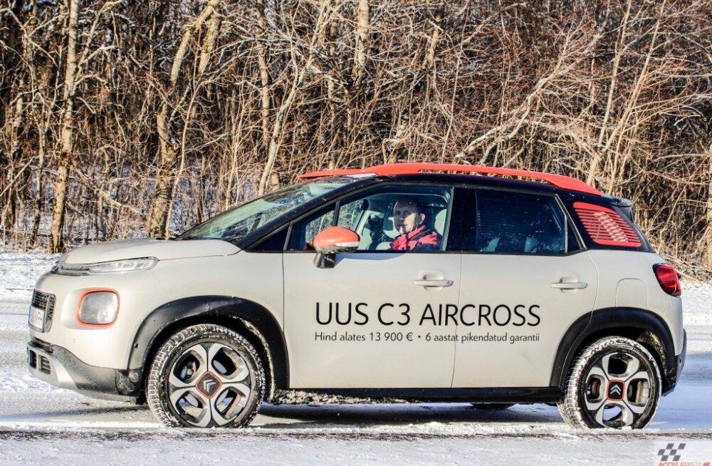 Citroën C3 Aircross – korraliku inimese auto, ja koerast ärge unistagegi!