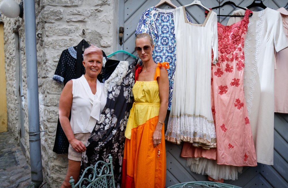 Evelin Ilves korraldas õhtupooliku moe, kleitide ja ägedate inimeste seltsis