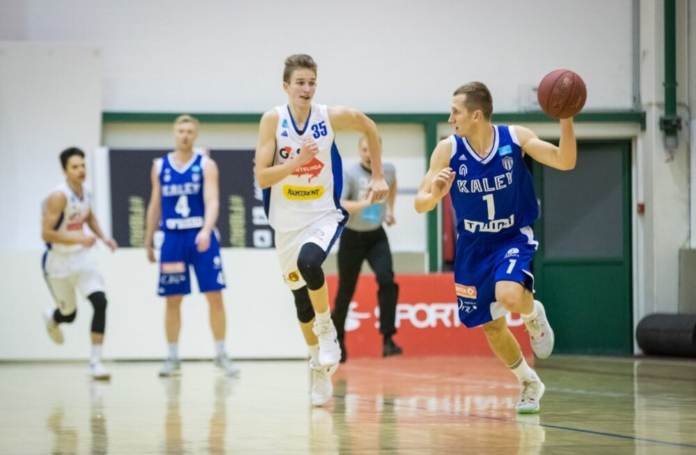 Korvpalli meistriliiga mäng G4S Noortekoondis - Tallinna Kalev/TLÜ