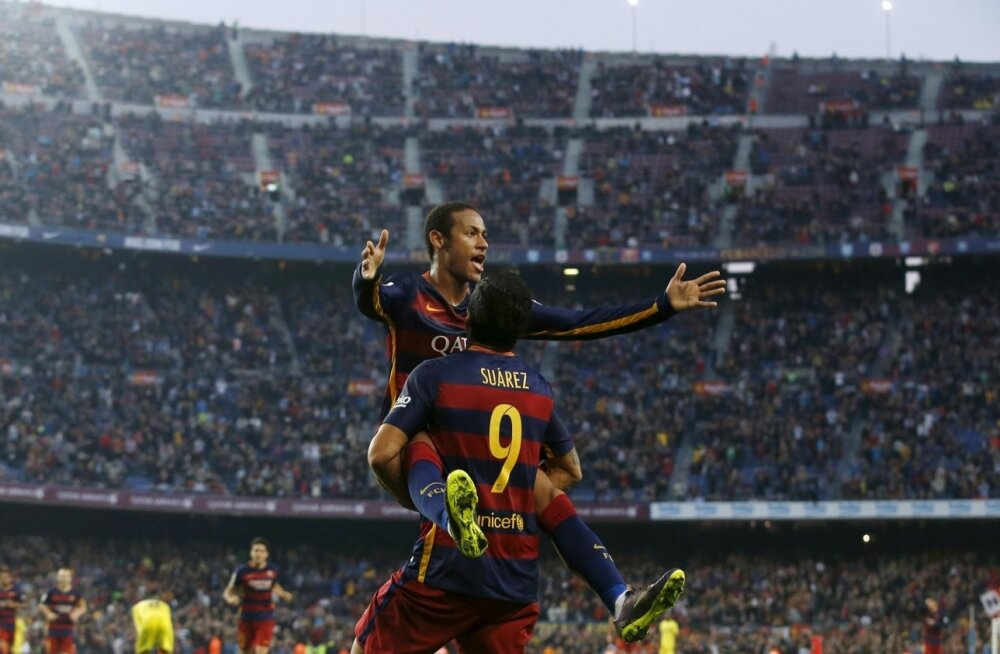 Neymar, Luis Suarez