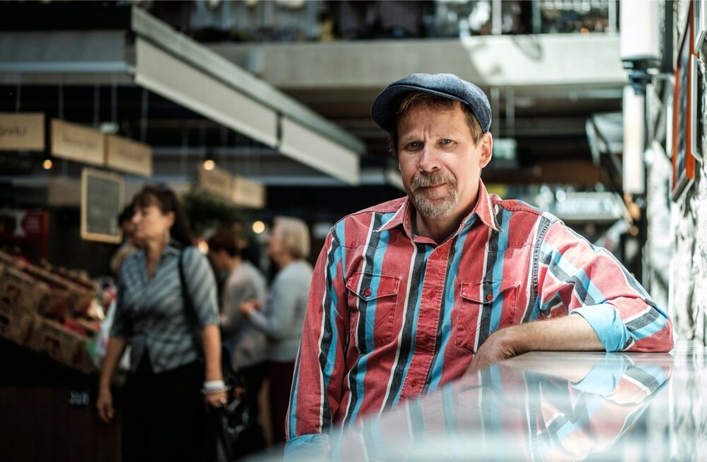 Andres Rjabovi sõnul hindavad külastajad turul personaalset lähenemist.