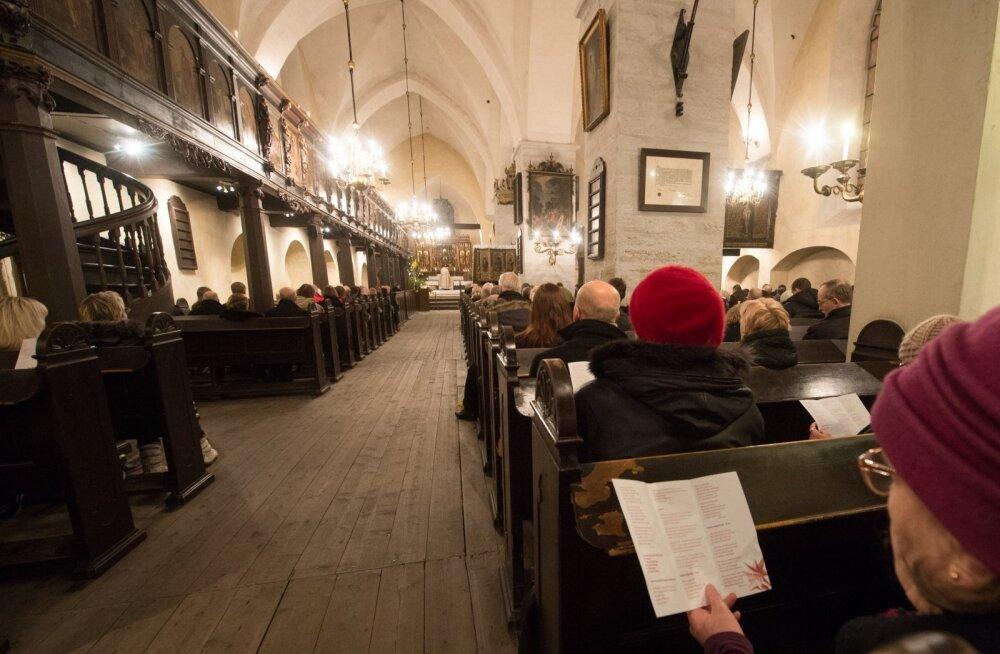 Jõulujumalateenistus Pühavaimu kirikus