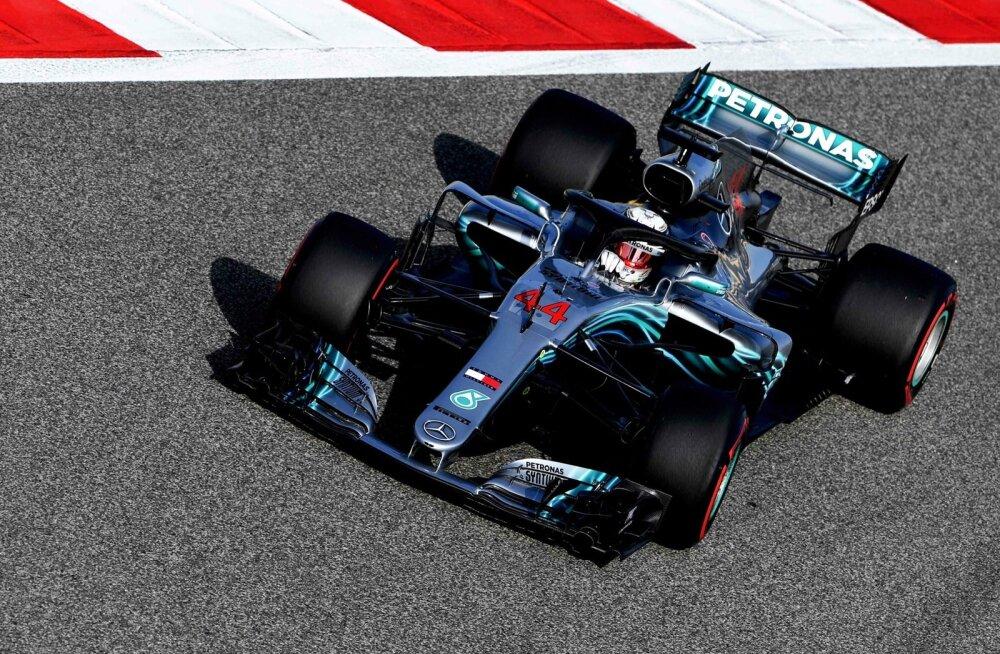 Lewis Hamilton Bahreinis.