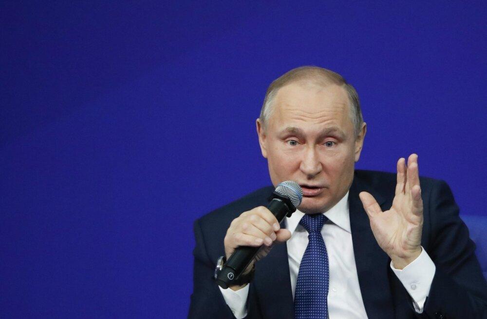Putin teatas, et tal on häbi, et ei kuulu USA Kremli nimekirja