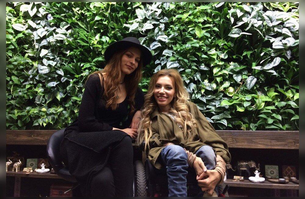 ФОТО: Российская певица Юлия Самойлова пришла в гости к Мэрилин Керро