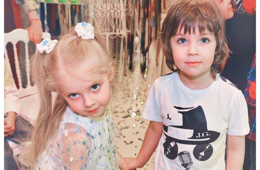 ФОТО И ВИДЕО: Алла Пугачева и Максим Галкин потратили на юбилей двойняшек больше 2 миллионов рублей