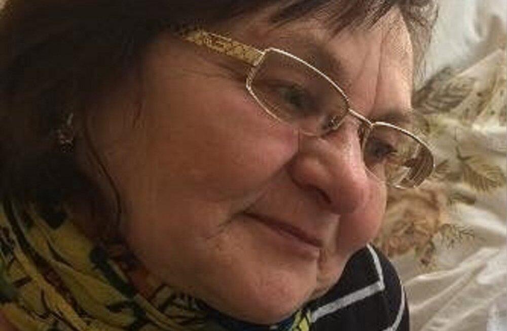 Полиция просит помощи в поисках пропавшей в Харьюмаа 69-летней Хильи