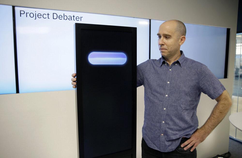 Masinaju õppis vaidlema: maailma esimene avalik debatt tehisintellekti ja inimväitleja vahel jäi viiki