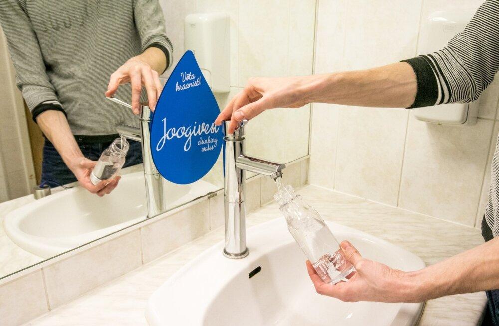Kristjan-Julius Laak, vesi kraanist