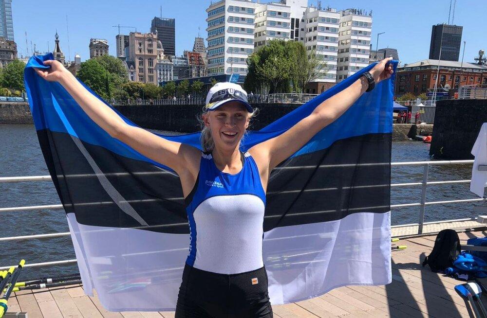Pronks! Greta Jaanson võitis noorte olümpialt pronksmedali