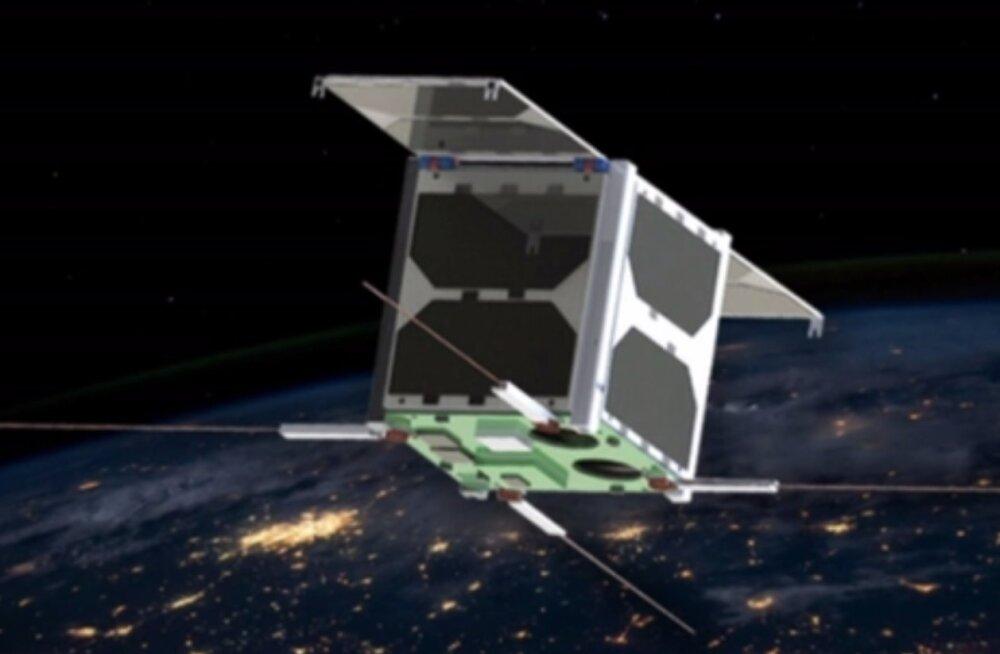 TTÜ teadussekundid: kuidas satelliidile koht kätte näidata?