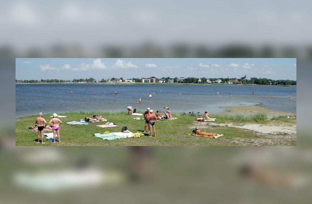 Haapsalu rannad on suvehooajaks valmis