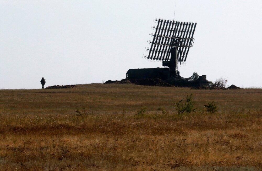 Venemaa sõjaväe mobiilne radar. Sedalaadi kiirgust mõõtes kogub Soome luure teavet Vene sõjajõudude tegevuse kohta.