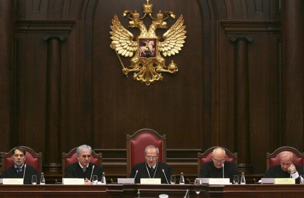 Putin andis Vene konstitutsioonikohtule õiguse rahvusvaheliste inimõiguskohtute otsuseid eirata