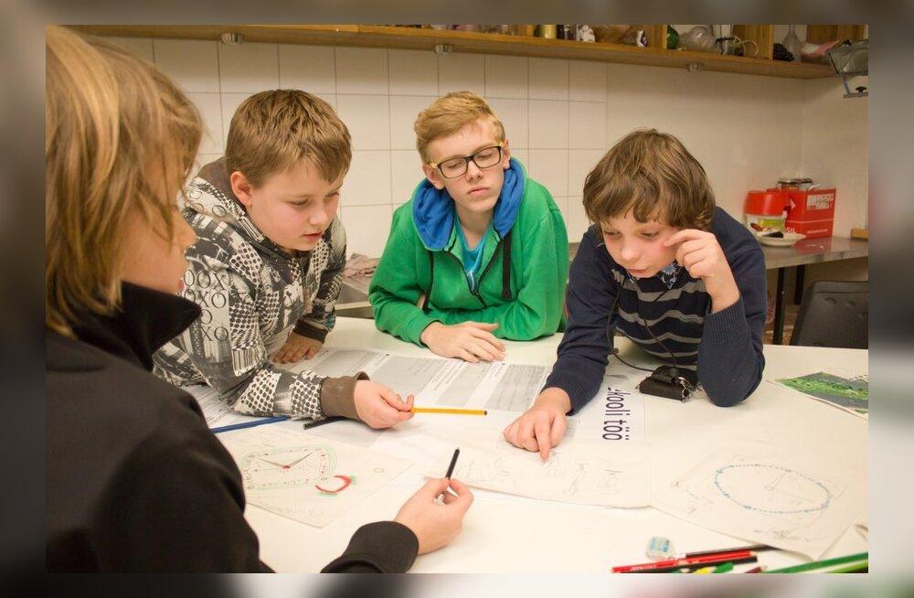 Särasilmsed noored leiutajad arendavad üheskoos linnaruumi