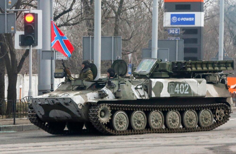 ЗРК Стрела-10 в Донецке