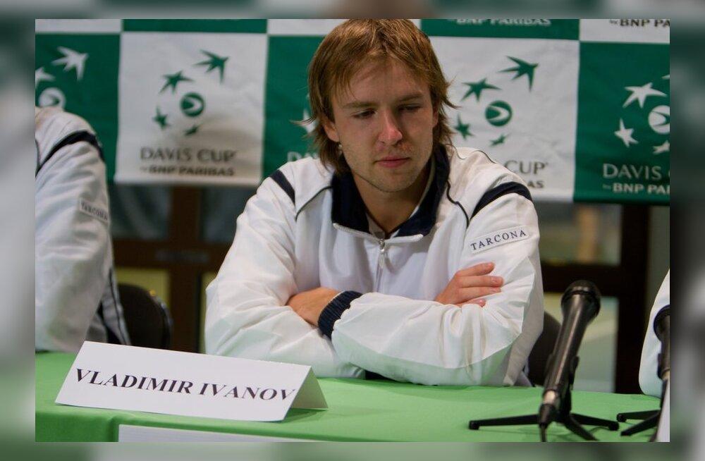 Eesti tennisemeeskond läheb Davise karika mängudele nõrgendatud koosseisus