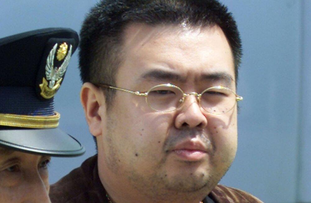 USA välisministeerium kinnitas, et Põhja-Korea kasutas Kim Jong-uni poolvenna mõrvamiseks keemiarelva