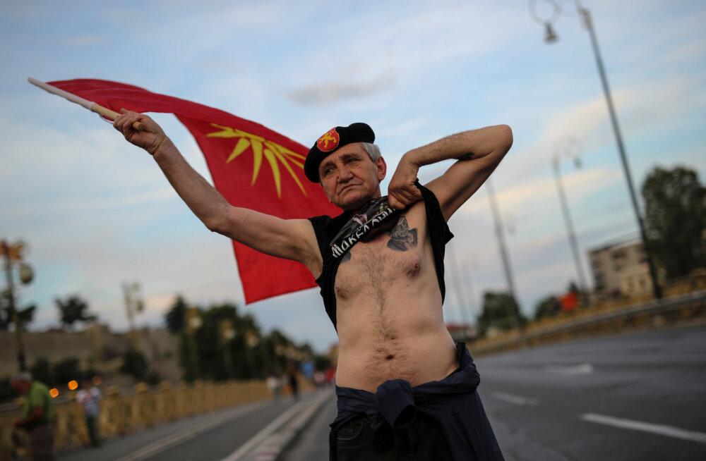 Makedoonia nimevaidlus jälle tupikus: president keeldub nimemuutust kinnitamast