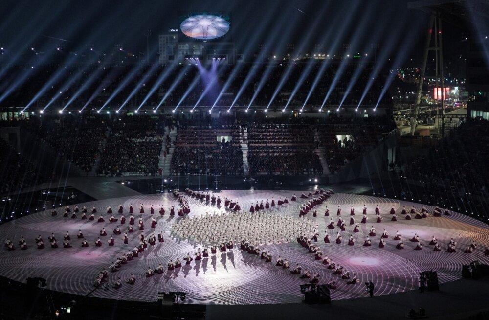 PyeongChang2018 taliolümpia avatseremoonia