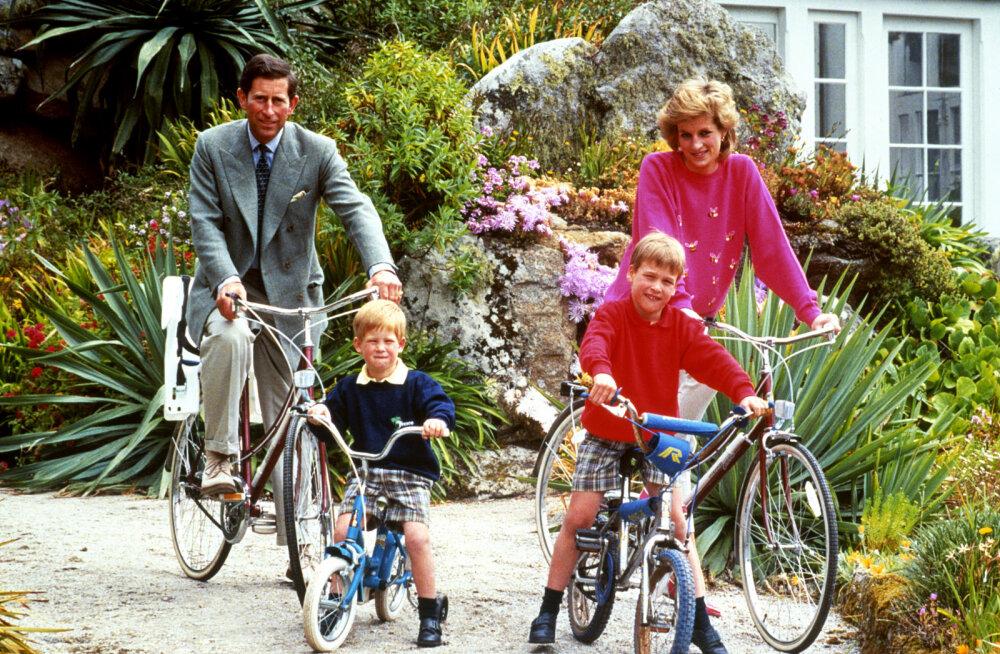 Prints Charles tegi hetk pärast Harry ilmaletulekut kohatu nalja, mis murdis printsess Diana südame