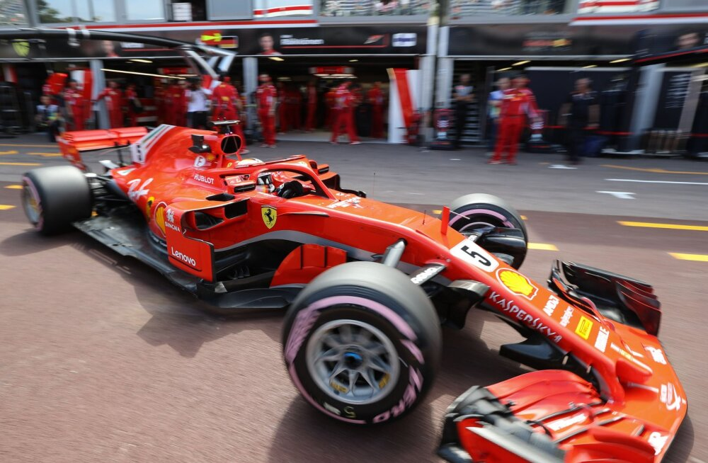 Sebastian Vettel teenis Ferrarile Monacos koomiliselt tühise trahvi