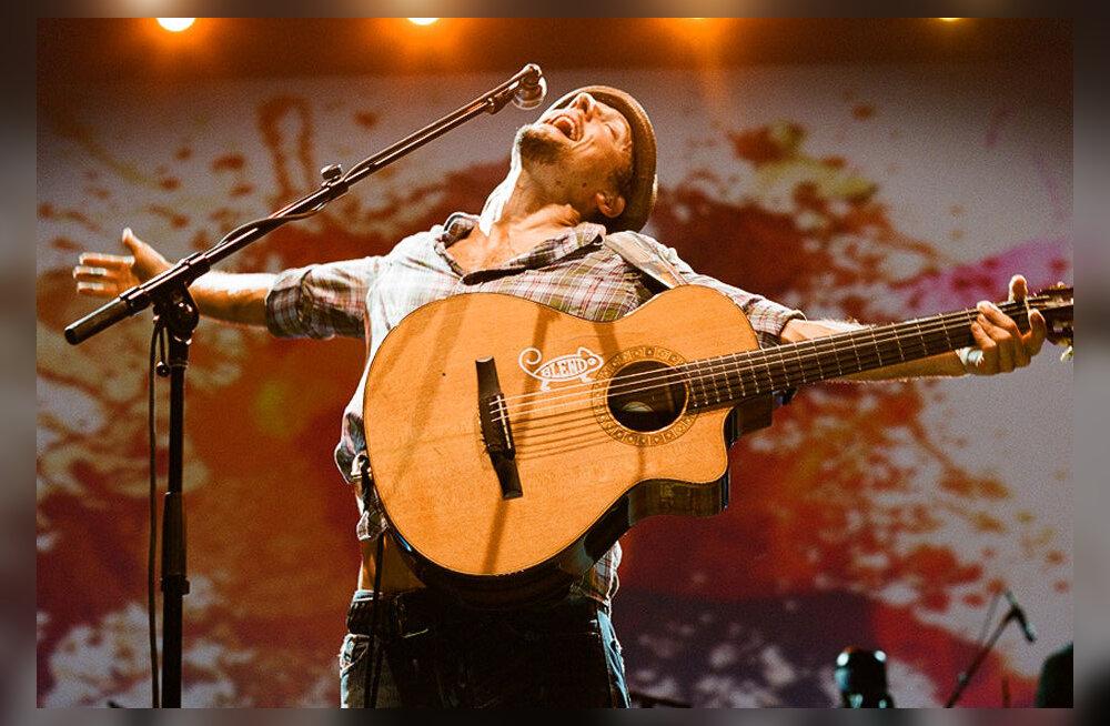 Midagi ägedat muusikasõbra halli argipäeva: laululind Jason Mraz esineb märtsi alguses Tallinnas!