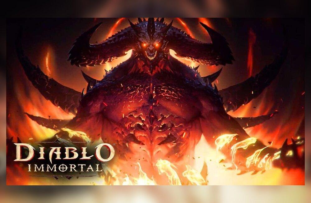 Mobiili-Diablo ajas tigedaks? Blizzardil on fännidele häid uudiseid