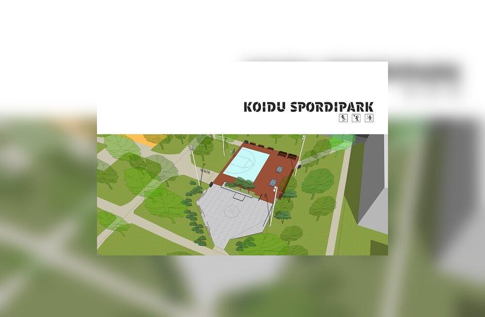 В сентябре будет готов новый спортивный парк в центре города