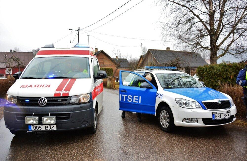 Kiirabi ja politsei