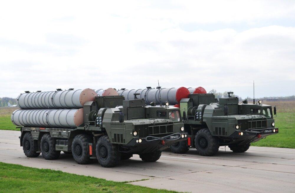 Türgi sõlmis kokkuleppe Vene raketisüsteemide S-400 ostmiseks