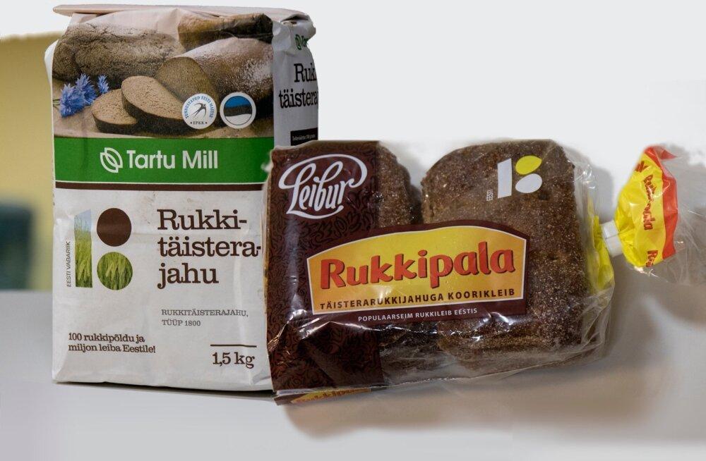 Põllumeeste kingituseks oli sada rukkipõldu rohkem – sellest viljast saab nüüd rahvas Rukkipala maitsta ja ka ise leiba küpsetada.