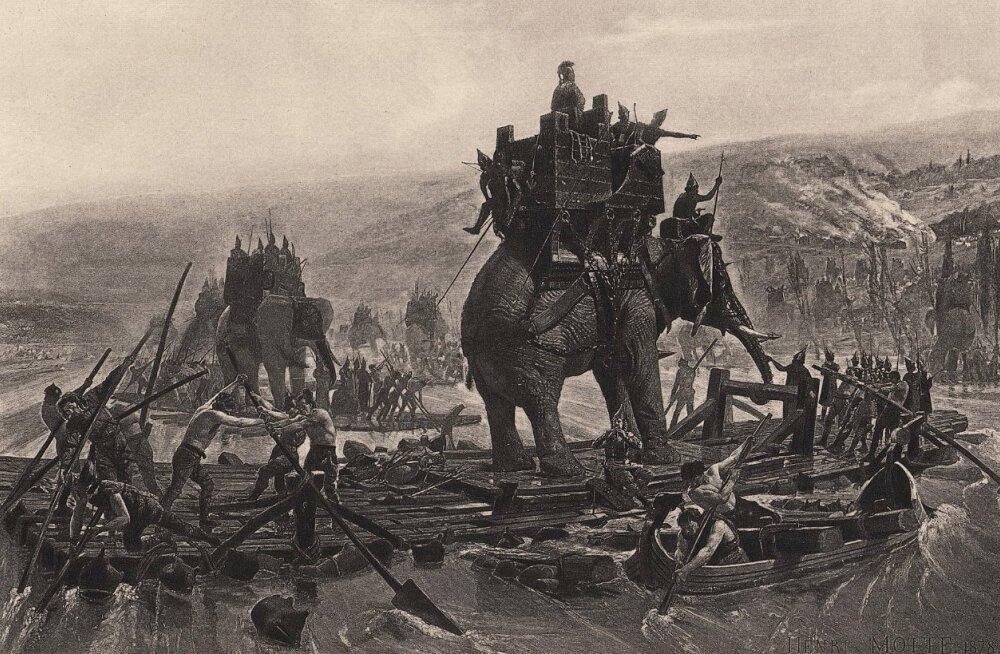 Siga elevandi vastu: julm võte, mida kasutasid lahingus nii antiigiaja kreeklased kui ka roomlased