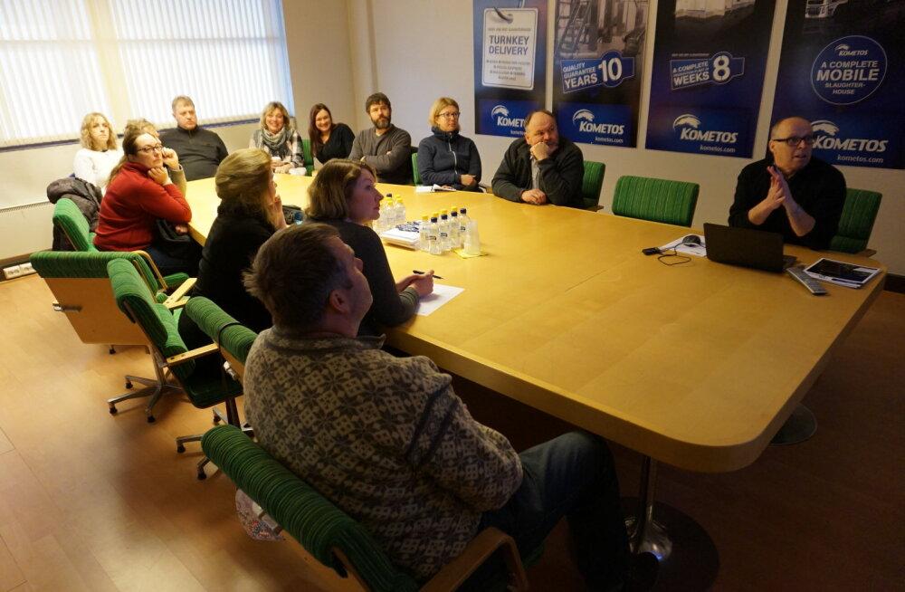 MEIE MAA   Loomakasvatajad käisid Soomes tapamajaga tutvumas