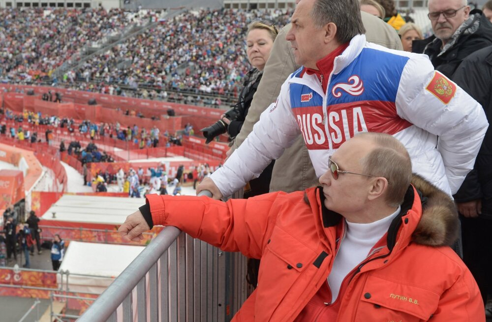 Venemaa president Vladimir Putin ja Vitali Mutko