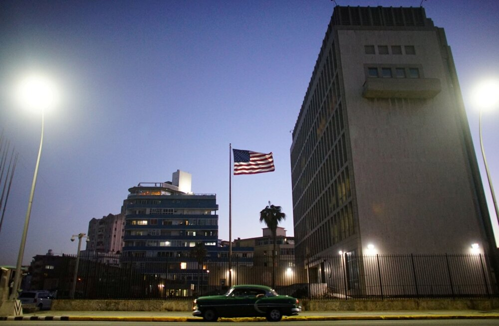 Kuuba pealinnas Havannas asuvasse USA saatkonna hoonesse on praeguseks jäetud üksnes hädavajalik töötajaskond.