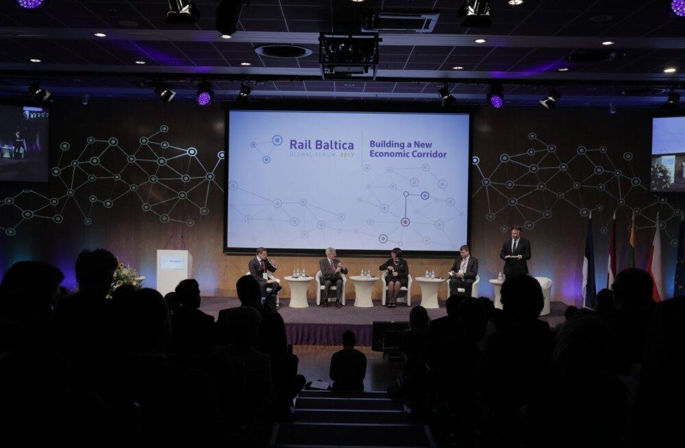 В Риге представили новый анализ расходов и доходов Rail Baltic