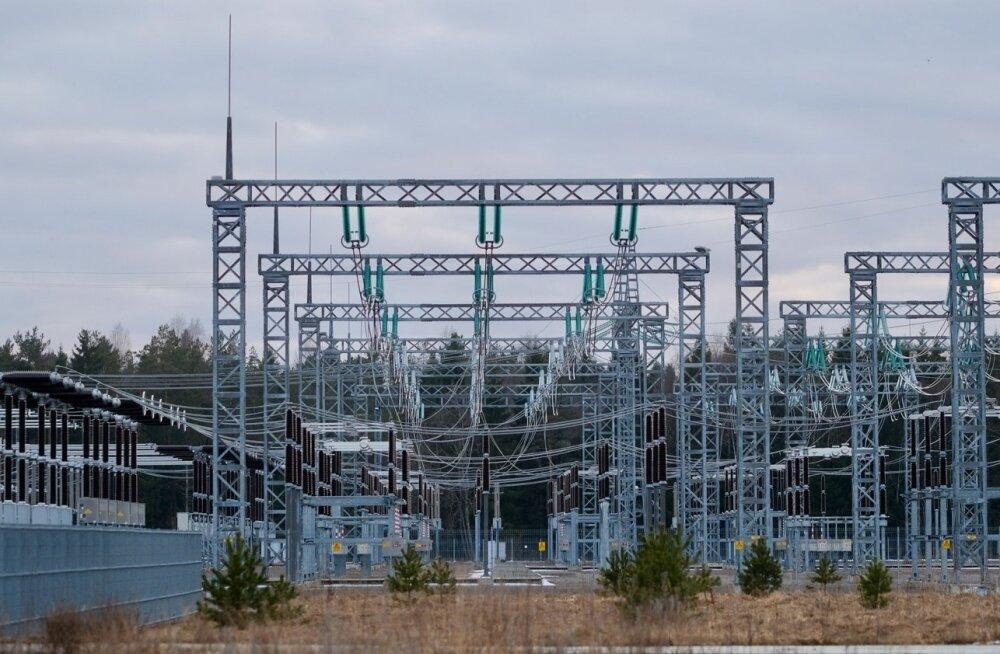 Eleringi alajaam Kiisa reservelektrijaama juures.