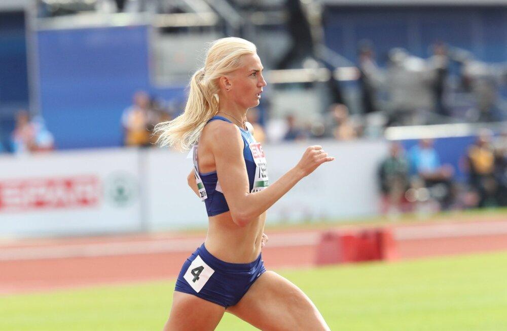 Liina Tšernovil jäi Eesti rekordist puudu vaid kolm sajandikku