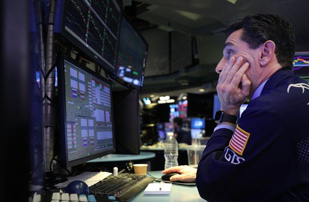 Karm oktoober börsidel. USA aktsiaturult haihtus kuuga ligi kaks triljonit dollarit