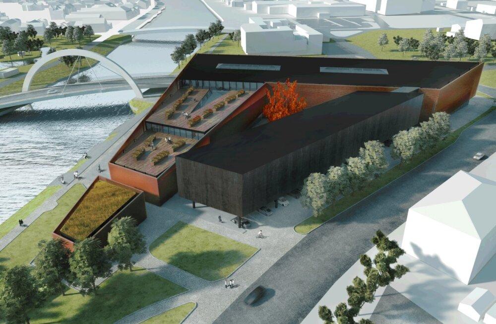 Tartu Ülikooli Delta maja hakkavad ehitama Rand ja Tuulberg ning Ehitustrust