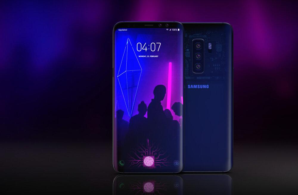 Samsungi leke paljastas S10 uue salarelva: selleks on kaamerad