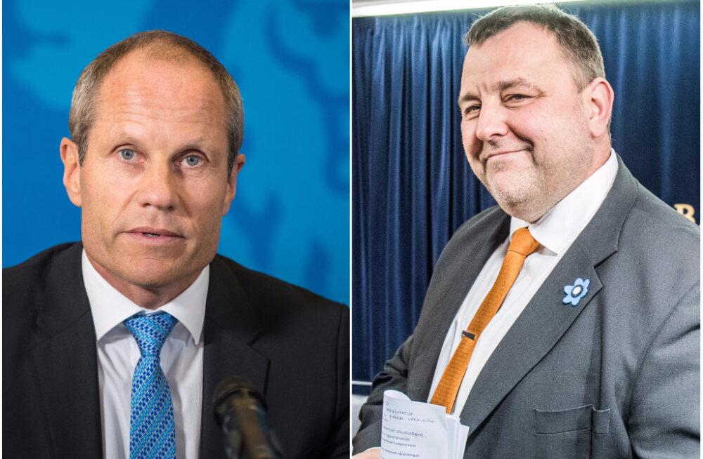 Kus on rahandusminister Tõniste, kui arutatakse riigieelarvet? Miks asendab teda Sester?