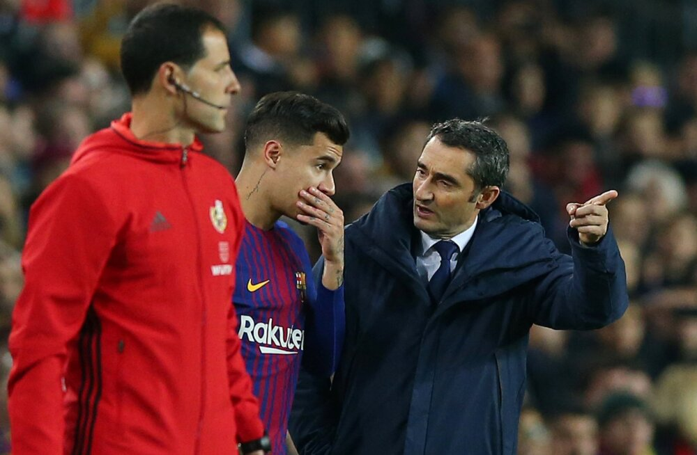 Ernesto Valverde räägib Philippe Coutinhoga