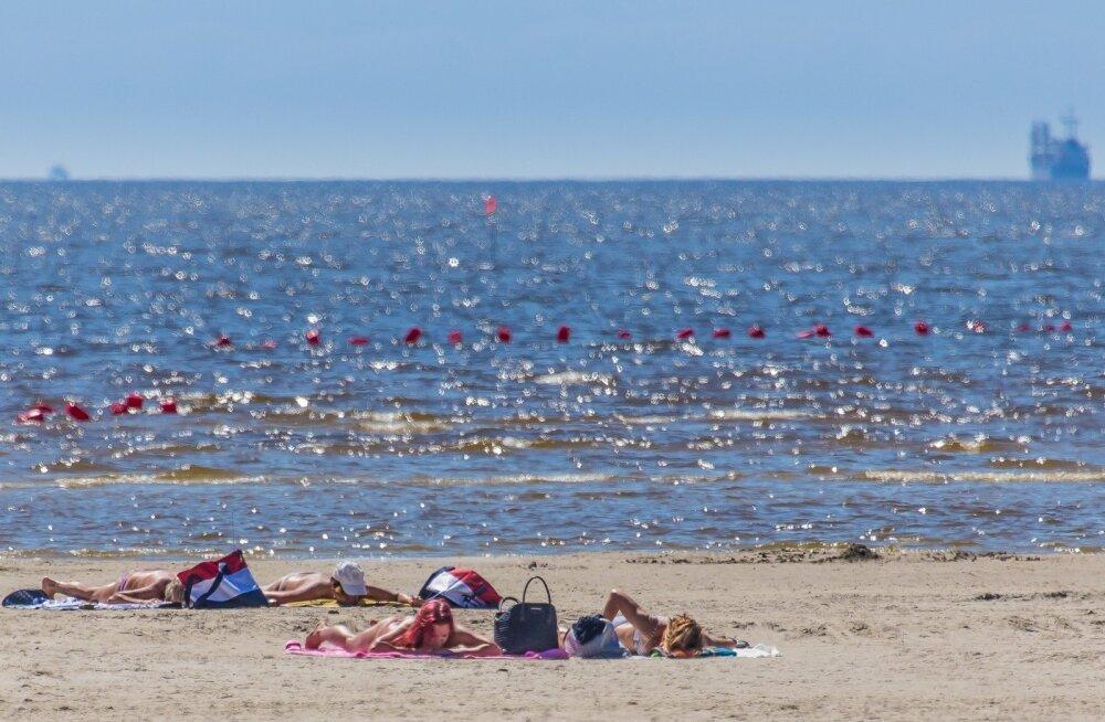 Pärnu rand 2018 mai lõpp